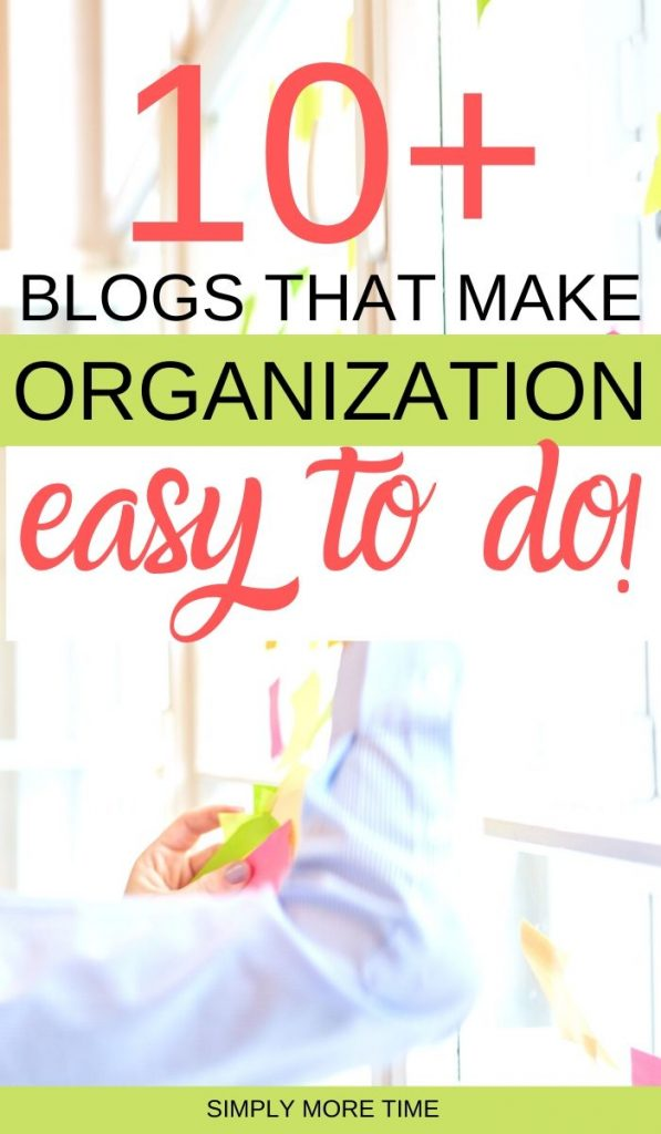 organizing blogs