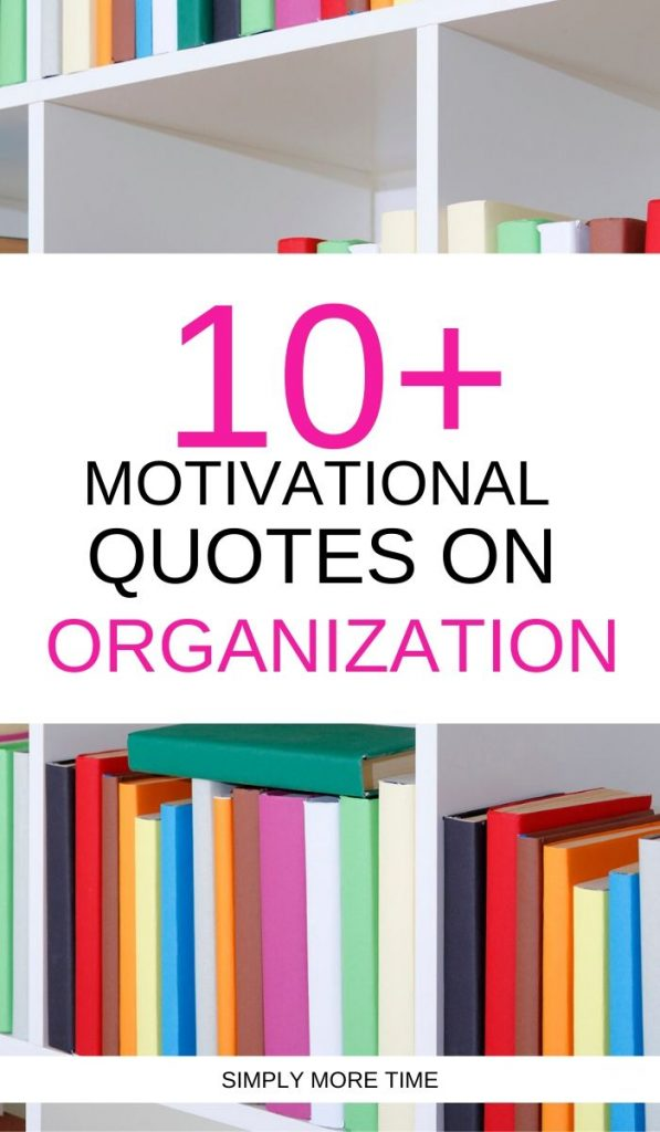 quotes on organization