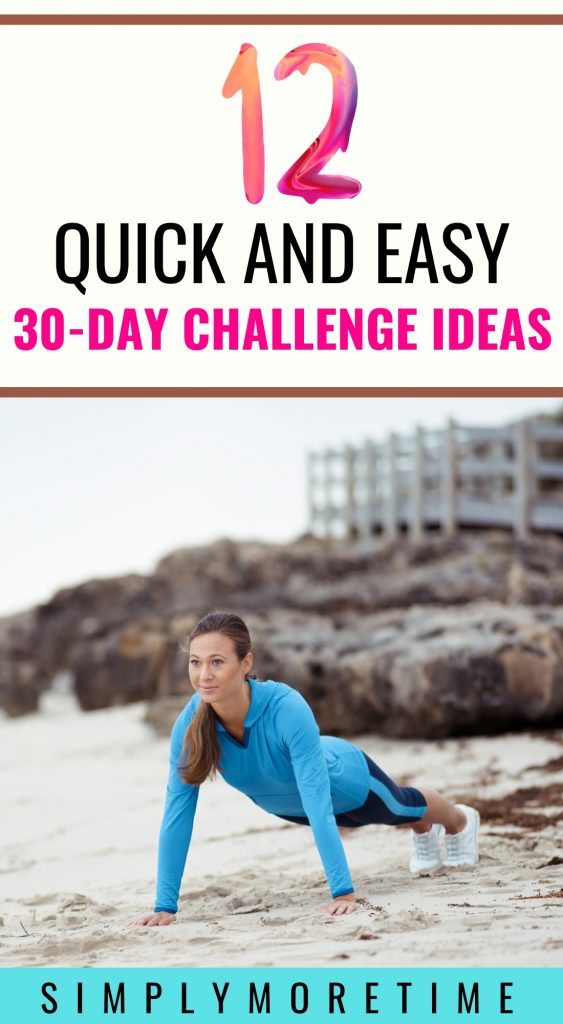30 day challenge ideas